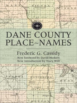 cover image of Dane County Place-Names