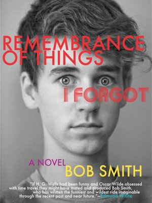 cover image of Remembrance of Things I Forgot