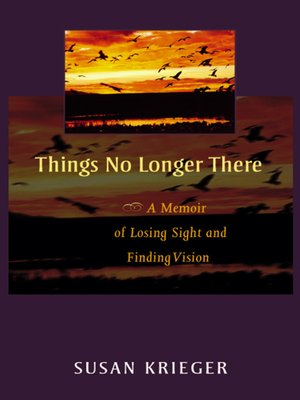 cover image of Things No Longer There