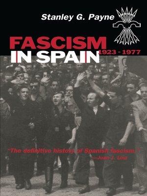 cover image of Fascism in Spain, 1923–1977