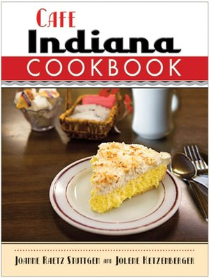cover image of Cafe Indiana Cookbook