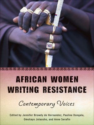 cover image of African Women Writing Resistance