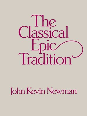 cover image of Classical Epic Tradition