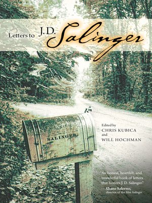 cover image of Letters to J. D. Salinger