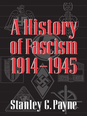 cover image of A History of Fascism, 1914–1945