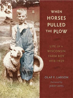 cover image of When Horses Pulled the Plow