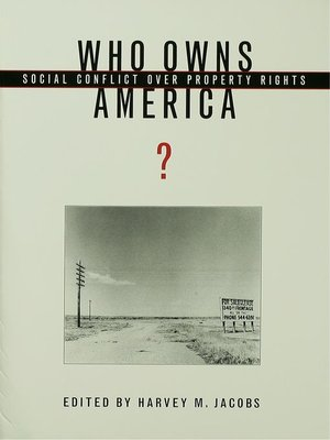 cover image of Who Owns America?