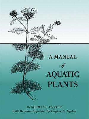 cover image of A Manual of Aquatic Plants