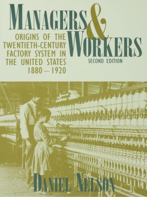 cover image of Managers and Workers