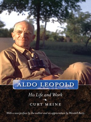 cover image of Aldo Leopold