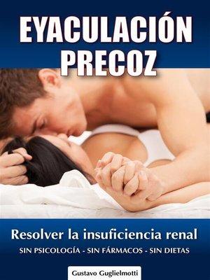 cover image of Eyaculación Precoz