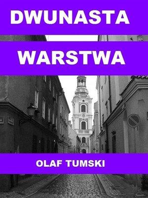 cover image of Dwunasta warstwa