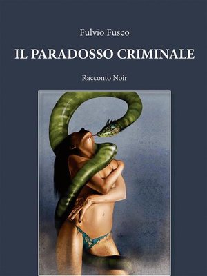cover image of Il paradosso criminale