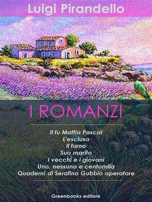 cover image of I Romanzi