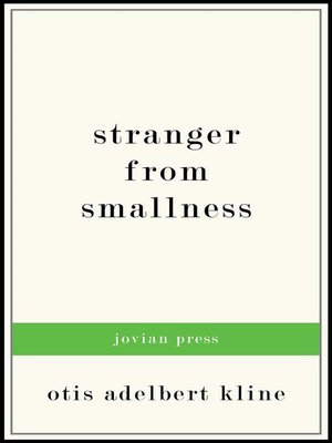 cover image of Stranger from Smallness