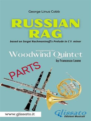 cover image of Russian Rag--Woodwind Quintet (parts)