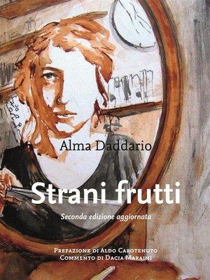 cover image of Strani frutti