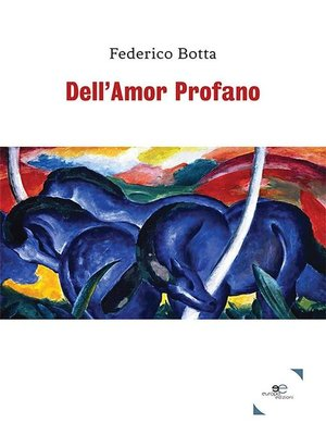 cover image of Dell'Amor Profano