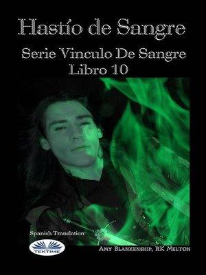 cover image of Hastío De Sangre