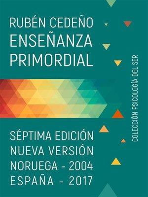 cover image of Enseñanza Primordial
