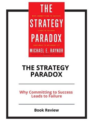 cover image of The Strategy Paradox