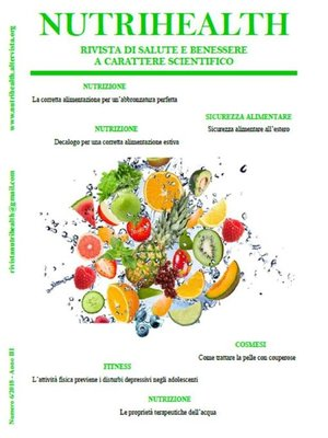 cover image of NutriHealth--Agosto 2018