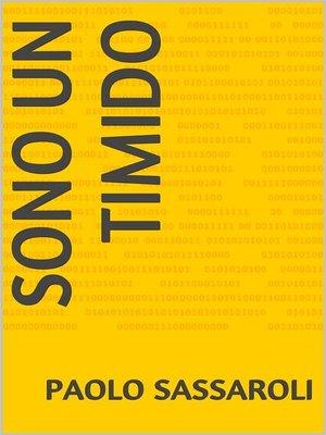 cover image of Sono un timido