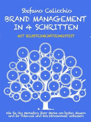 cover image of Brand management in 4 schritten