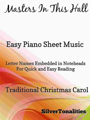 cover image of Masters In This Hall Easy Piano Sheet Music