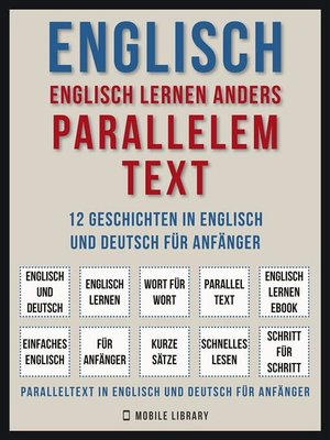 cover image of Englisch--Englisch Lernen Anders Parallelem Text (Vol 1)