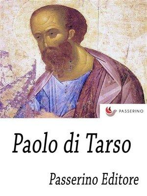 cover image of Paolo di Tarso