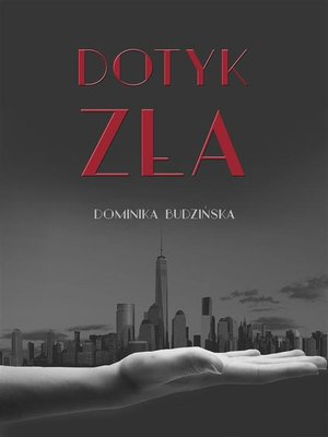 cover image of Dotyk zła