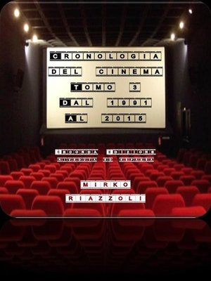cover image of Cronologia del Cinema Volume 3 1991-2015