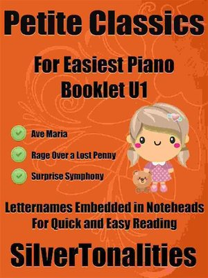 cover image of Petite Classics for Easiest Piano Booklet U1