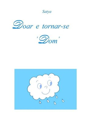 cover image of Doar e tornar-se 'Dom'