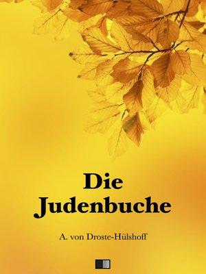 cover image of Die Judenbuche