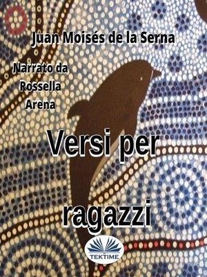cover image of Versi Per Ragazzi