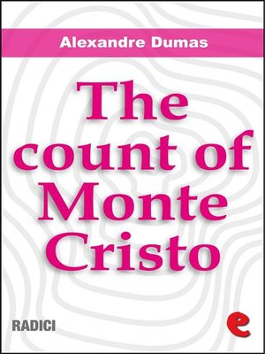 cover image of The Count of Monte Cristo