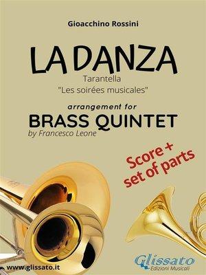 cover image of La Danza (tarantella)--Brass Quintet score & parts