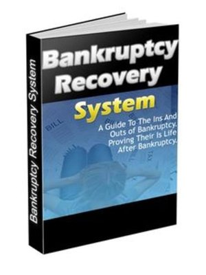 cover image of Bankruptcy recovery guide