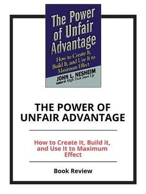 cover image of The Power of Unfair Advantage
