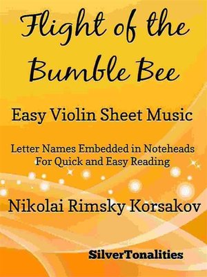 cover image of Flight of the Bumble Bee Easy Violin Sheet Music