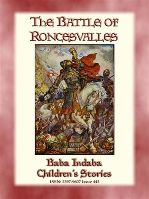 cover image of THE BATTLE OF RONCEVALLES--A Carolingian Legend
