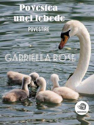 cover image of Povestea unei lebede