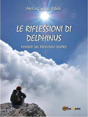 cover image of Le riflessioni di Delphinus