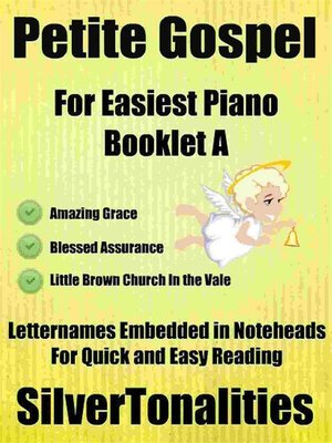 cover image of Petite Gospel for Easiest Piano Booklet A