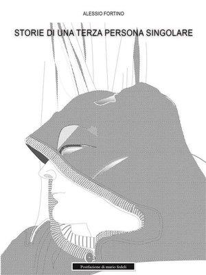 cover image of Storie di una terza persona singolare
