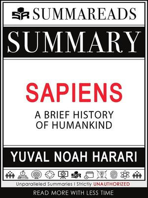 cover image of Summary of Sapiens--A Brief History of Humankind by Yuval Noah Harari