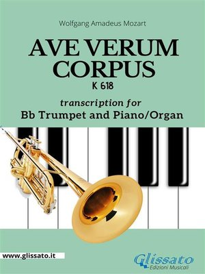 cover image of Ave Verum Corpus-- Bb Trumpet and Piano/Organ