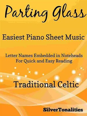 cover image of Parting Glass Easiest Piano Sheet Music